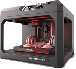 MAKERBOT Replicator+ Desktop 3D Printer
